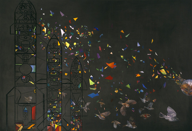 , 'Air to Air,' 2012, Gallery Espace