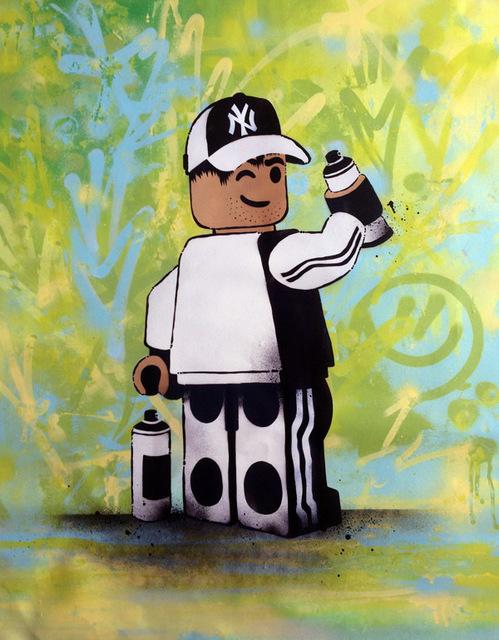 , 'Lego Graffiti ,' 2017, ZK Gallery