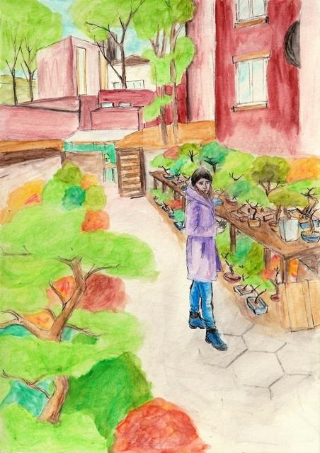 , 'Bonsai Garden,' 2017, Kolja Kramer Fine Arts