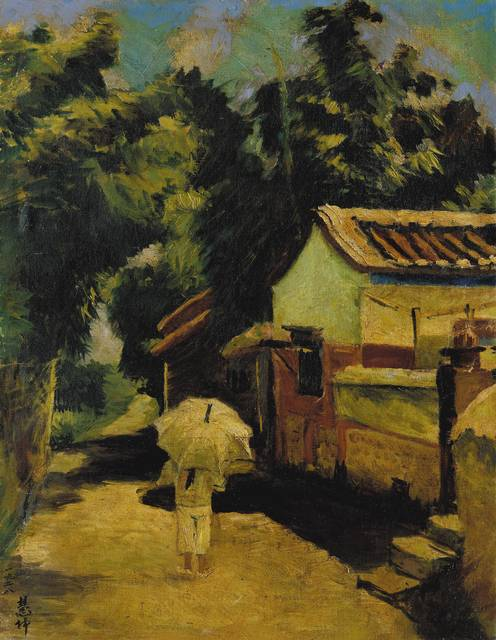 CHEN H​​UO​E​I-KUEN 陳慧坤, 'My Hometown Lung-Ching', 1928, Liang Gallery