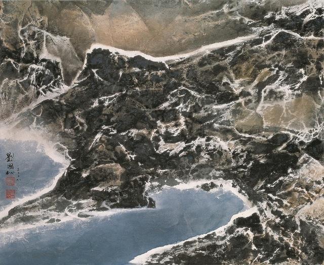 , 'Pangong Tso 班公錯灣,' 2008, Galerie du Monde