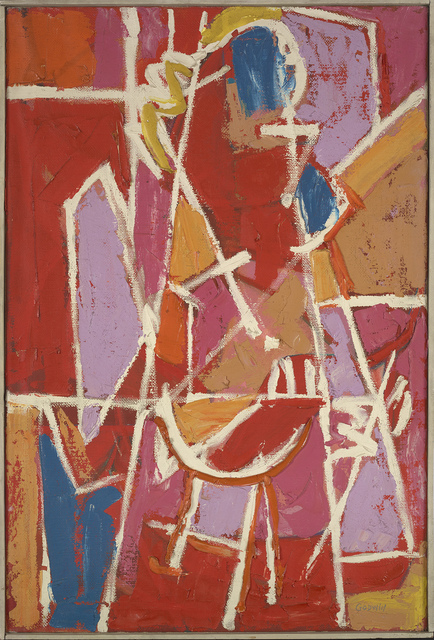 , 'Woman with Golden hair,' 1954, Berry Campbell Gallery