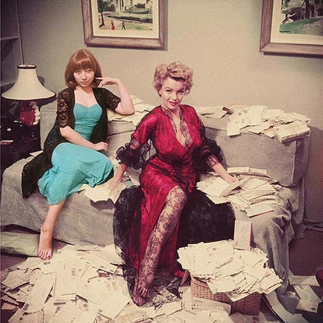 , 'Marilyn Monroe & Celine Liu ,' 2014, MO-Industries