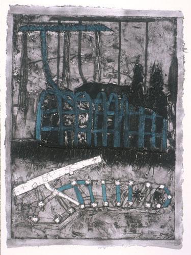 , 'Untitled #3 (sculpture),' 2001, Mixografia