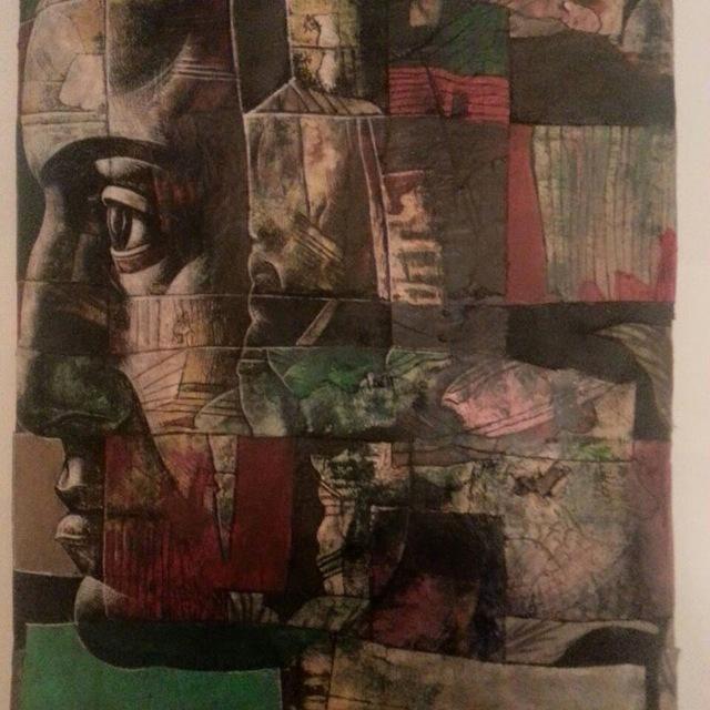 , 'Figure print 1,' 2012, Galeria Kalo
