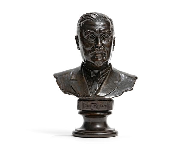 Anton van Wouw, 'Bust of Louis Botha', Strauss & Co