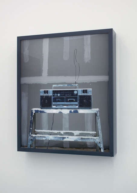 , 'Drywaller's Boombox,' 2013, 303 Gallery