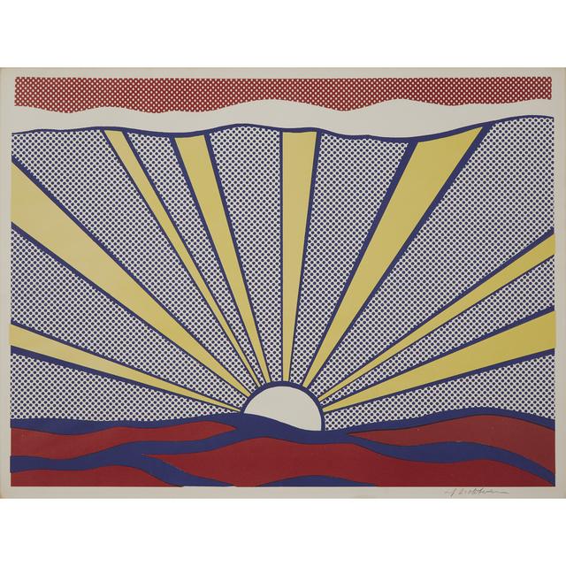 Roy Lichtenstein, 'Sunrise', 1965, Freeman's
