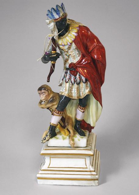 Berlin Porcelain Factory, 'Africa', 1769-1770, Cooper Hewitt, Smithsonian Design Museum
