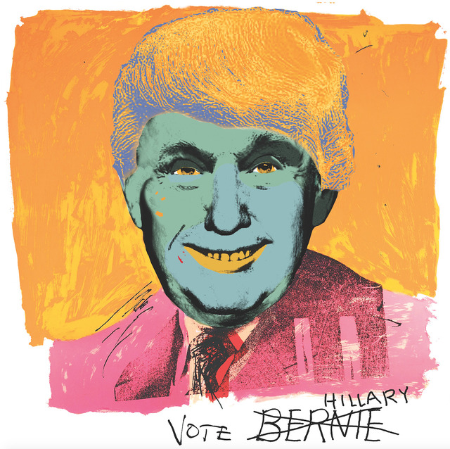 , 'Vote Hillary,' 2016, Robert Berman Gallery