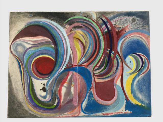 Chris Johanson, 'Homeostasis Painting #3 (Carefully Considering)', 2019, Altman Siegel