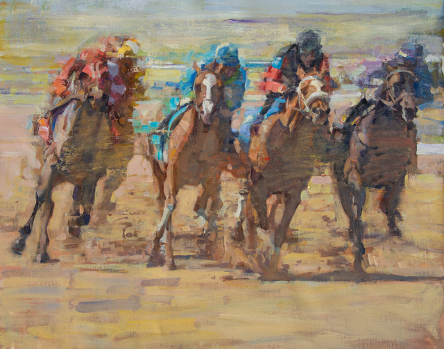 Quang Ho, 'Rounding the Home Stretch', 2018, Cross Gate Gallery