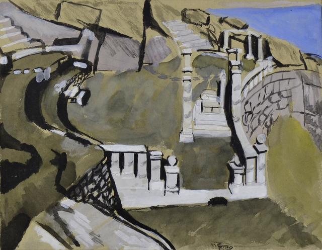 , 'Minack Cliff Theatre, Porthcurno,' 1940, Waterhouse & Dodd