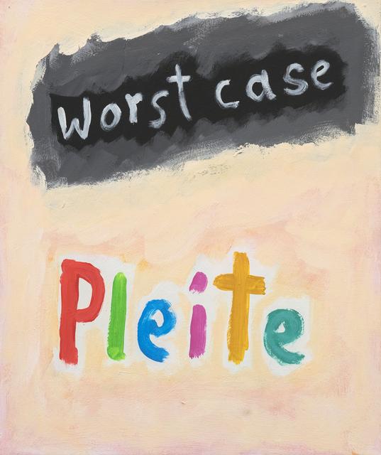 , 'o.T. (worst case Pleite),' 1998, Ruttkowski;68