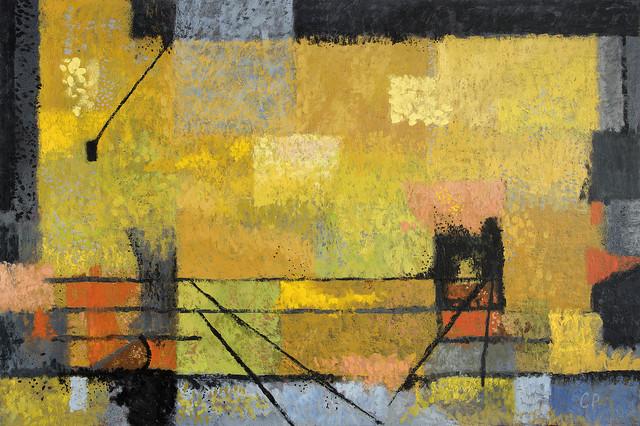 Carlos Pellicer, 'Sobre una estampa', 2017, Painting, Encaustic on hardboard, Aldama Fine Art