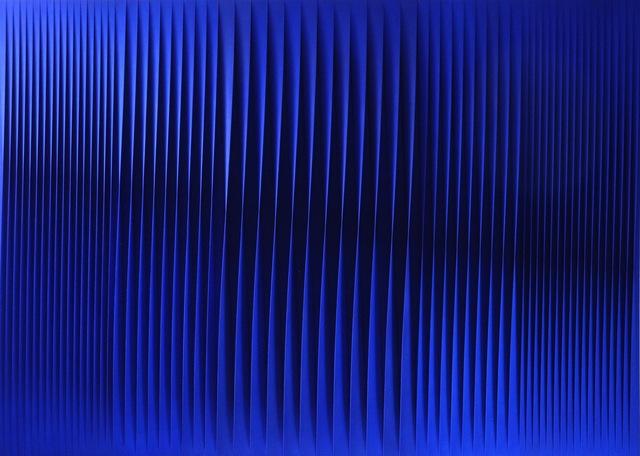 Pino Manos, 'Sincronicità armonica evento blu', 2017, Opera Gallery
