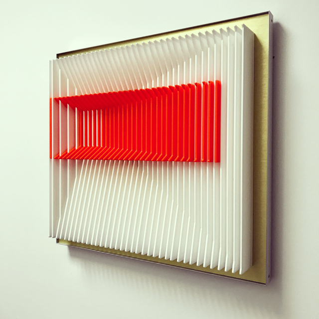 J. Margulis, 'Orange inclined', 2017, Contempop Gallery