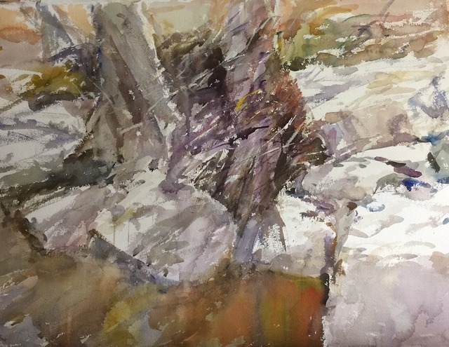 , 'Blanco Riverbed,' 2018, Wally Workman Gallery