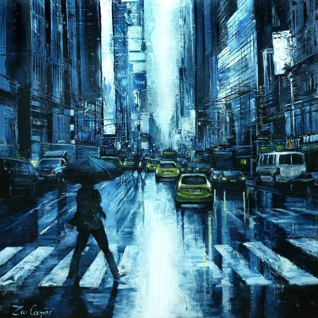 , 'Rainy Evening,' 2018, SimonBart Gallery