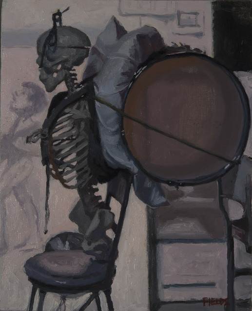 , 'Studio Skeleton as Peter with Drum,' , Dowling Walsh