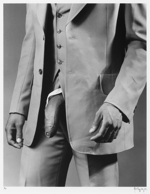 , 'Man in Polyester Suit,' 1980, Galerie Thomas Schulte