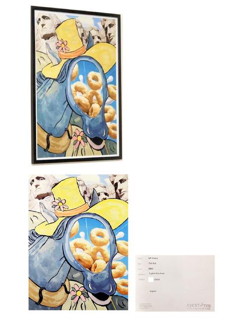 "Jeff Koons, '""Cut Out"", 2000, Digital Flex Print, Signed/Numbered Edition of 1000, Eyestorm Publishing, Framed by Publisher.', 2000, VINCE fine arts/ephemera"