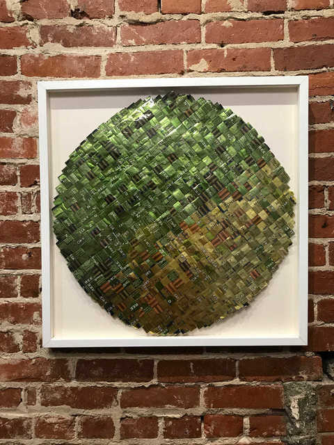 , 'Green Honey,' 2018, Mason-Nordgauer Fine Arts Gallery