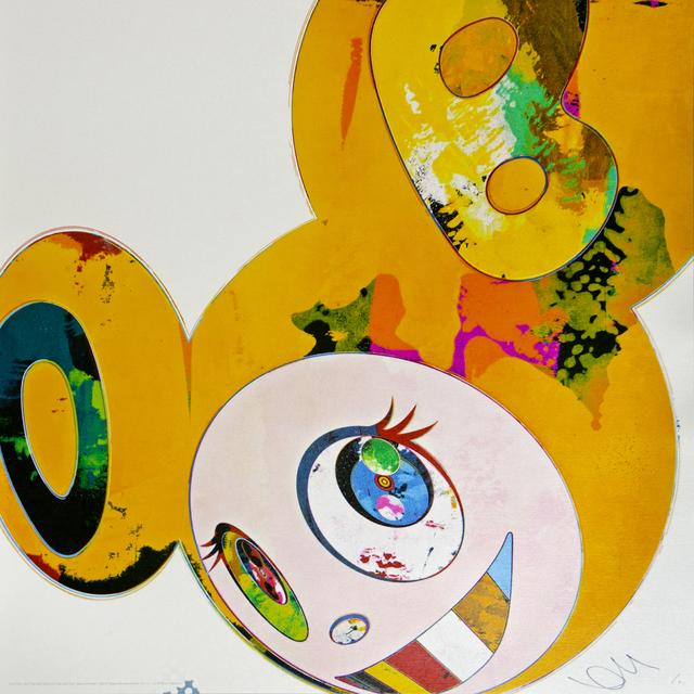 Takashi Murakami, 'and then x6 yellow universe', 2013, Mixer