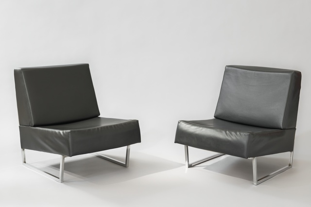 , 'Pair of low chairs FG2 - Courchevel,' 1959/1960, Galerie Pascal Cuisinier