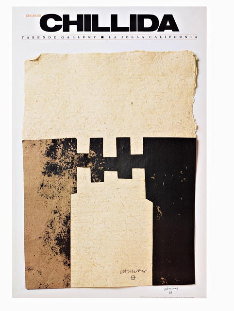 Eduardo Chillida, 'CHILLIDA (Hand Signed) from the Robert and Ruth Vogele Collection', 1983, Alpha 137 Gallery