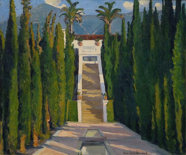 Louise Upton Brumback, 'Garden in San Simeon, California', 19th -20th Century, Vose Galleries
