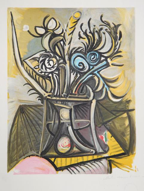 Pablo Picasso, 'Vase de Fleurs, 1969', 1979-1982, RoGallery