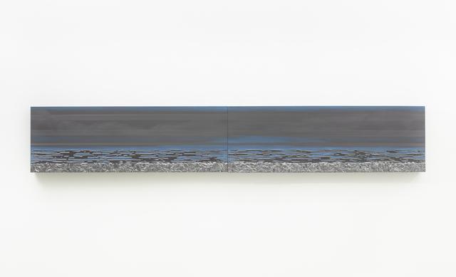 , 'Nocturnal (Horizon Blue Haze),' 2016, Lehmann Maupin