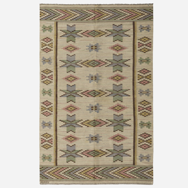 Marta Maas-Fjetterstrom AB, 'Vit Botten flatweave carpet', Wright