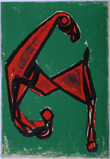 , 'Cheval Rouge sur Font Vert,' 1955, Odon Wagner Contemporary