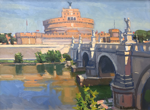 , 'Castel Sant' Angelo,' 2019, William Baczek Fine Arts