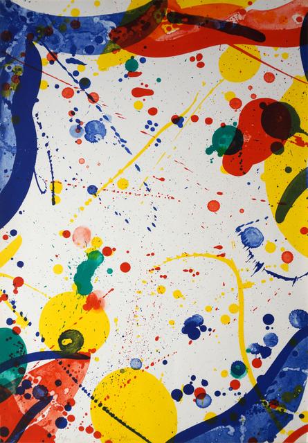 Sam Francis, 'SF-72,  Pasadena Box, Another 8 Set - 8', 1966, Robert Green Fine Arts
