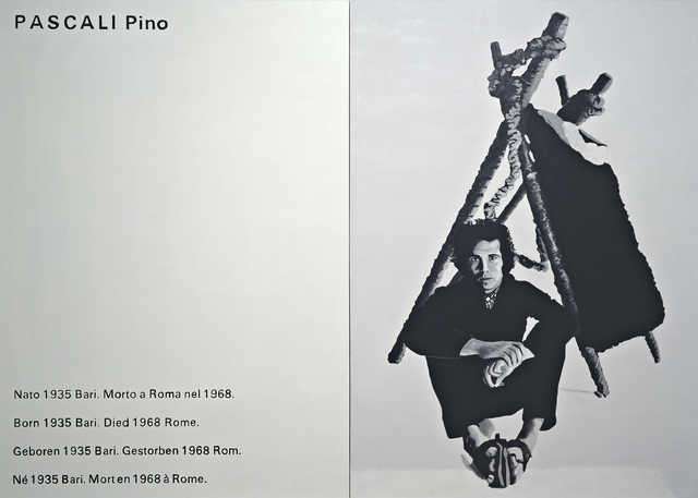 , 'W.A.B.F., An Exhibition Sponsored by Philip Morris Europe, ICA, London 1969 (Pascali Pino),' 1997, Collezione Maramotti
