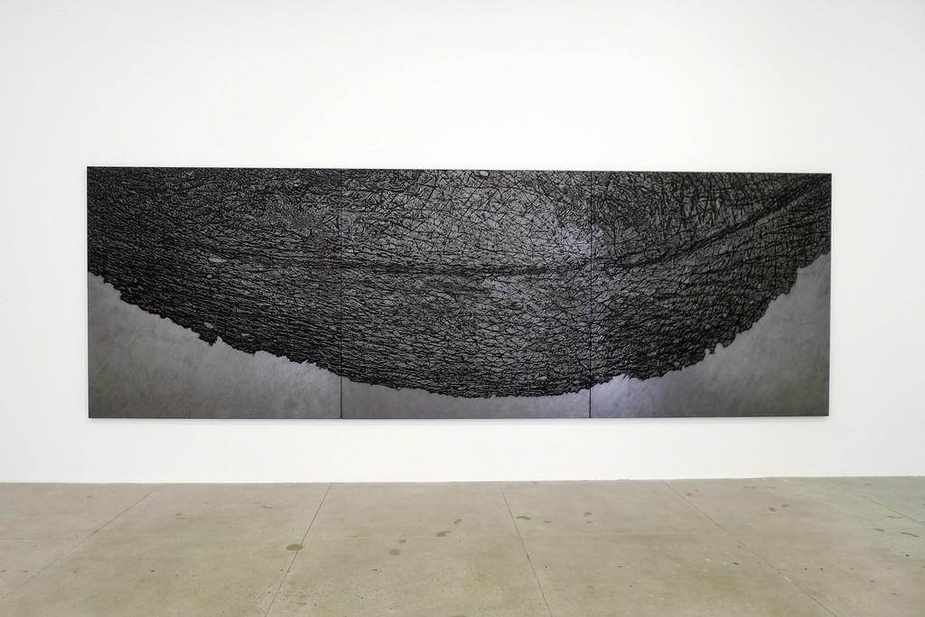 eyelid art giuseppe penone pelle di grafite palpebra skin of graphite