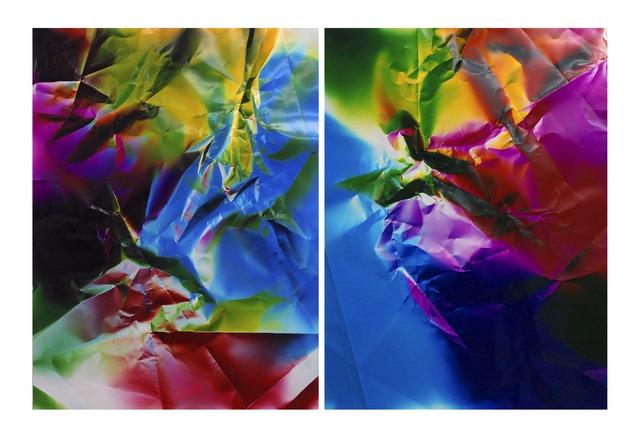 , 'Dings & Shadows (diptych) ,' 2015, JHB Gallery
