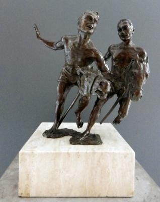 Guillermo Gomez Macias, 'Caballeria Rusticana', Galleria Dante