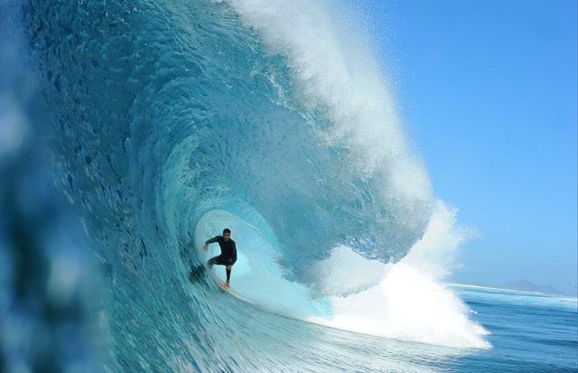 , 'Manuel Lezcano surfing in La Graciosa, Canary Islands.,' , Anastasia Photo