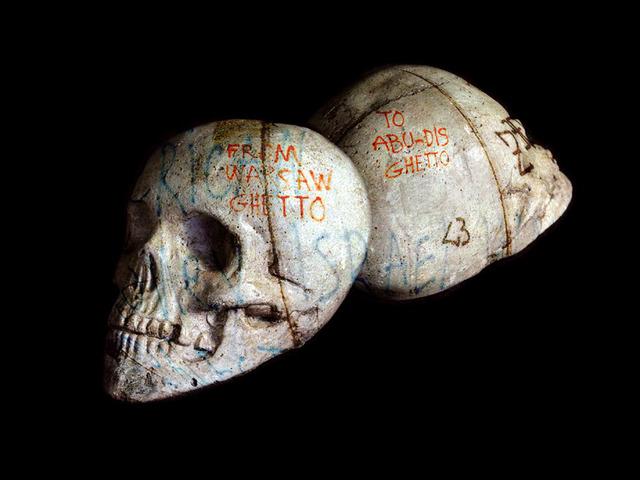 , 'MEMENTO MORTEM - A CHACUN SA PART DU GHETTO,' 2011-2012, Mark Hachem Gallery