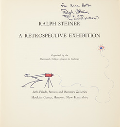[SIGNED PHOTOBOOKS] Two volumes inscribed to Anne Horton