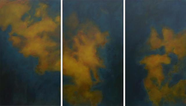 , 'Ciel de Nuit/ Triptych,' 2017, Andra Norris Gallery