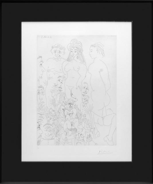 , 'Characters from El Entierro del Conde de Orgaz.,' 1968, Peter Harrington Gallery