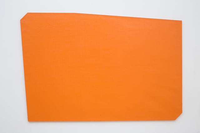 , 'untitled orange ,' 2009, VILTIN Gallery