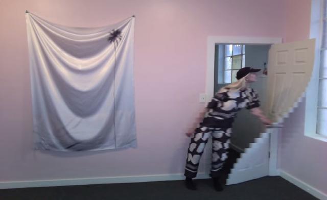 , 'DOT WARP WITH DOOR,' 2014, UTA Artist Space