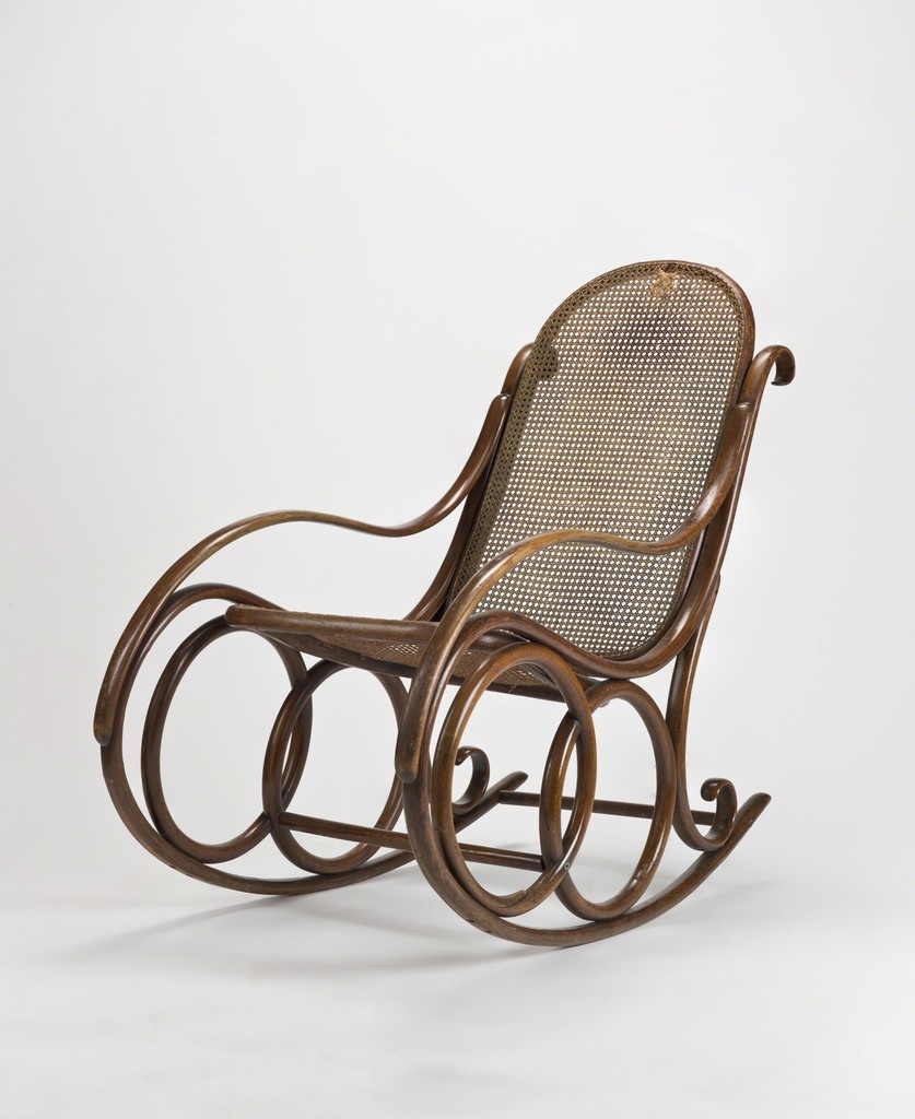 michael thonet rocking chair 1890 artsy. Black Bedroom Furniture Sets. Home Design Ideas