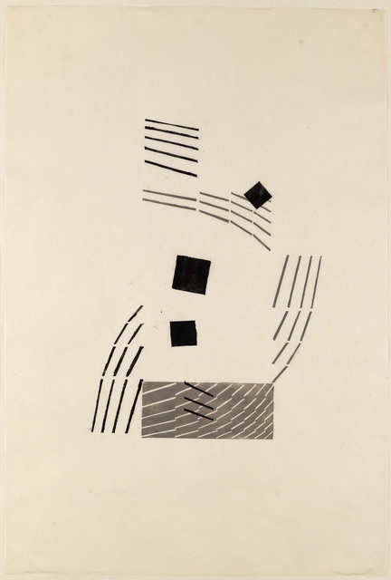 , 'Abstract,' 1952, The Fine Art Society